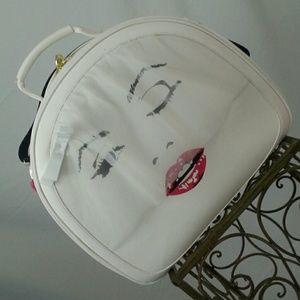 Betsey Johnson Marilyn Monroe travel case
